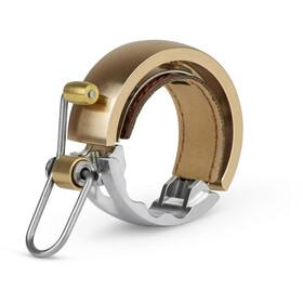 Knog Oi Luxe Fahrradklingel brass